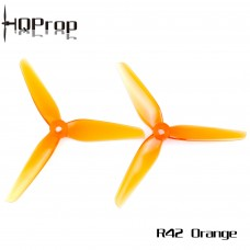 HQ Racing Prop R42 Orange 2CW + 2CCW - POPO