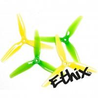 HQProp ETHiX S4 5X3.65X3 Lemon Lime Propellers 2CW + 2CCW