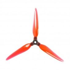 DALProp F7 7 Inch Folding Props Crystal Red 2CW + 2CCW