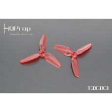 HQ T3x3x3 PC Light Red 2CW + 2CCW